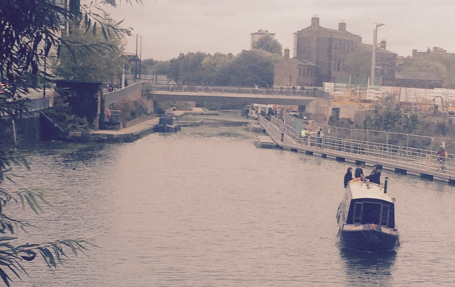 Regent's Canal - on my way to the Underground from my flat