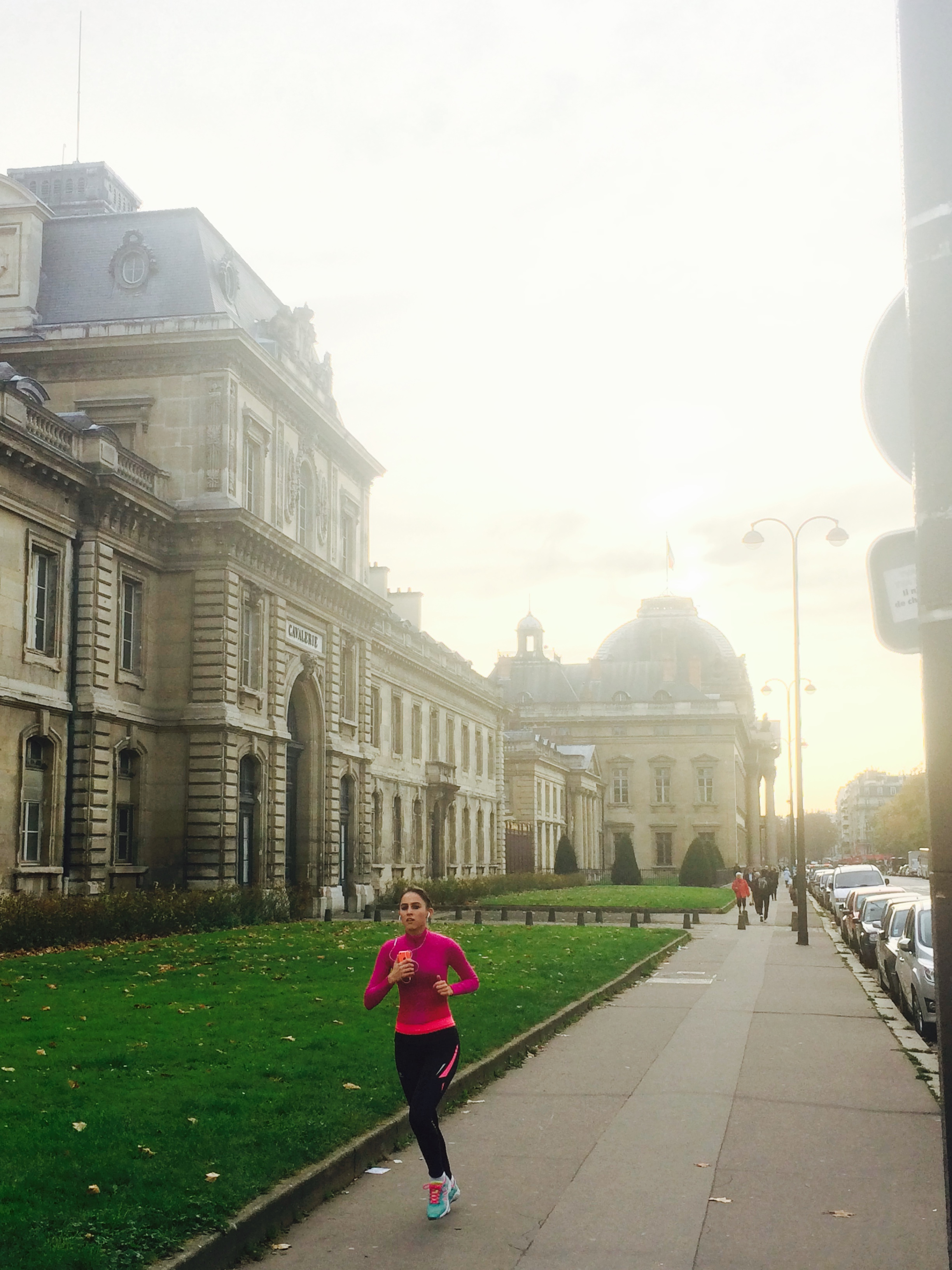 In front of Ecole Militaire
