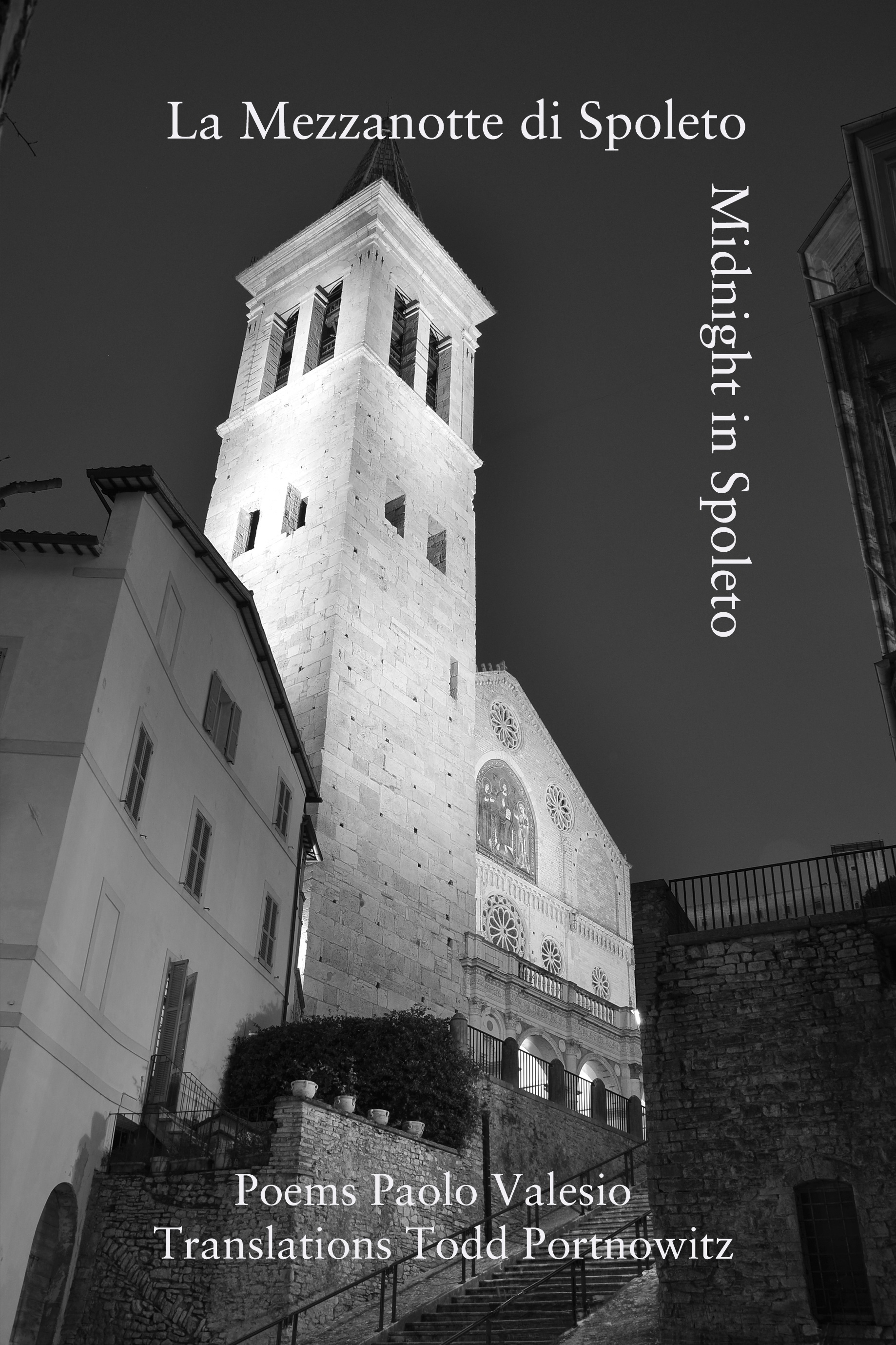 MIDNIGHT IN SPOLETO  by Paolo Valesio  Fomite  January 2018