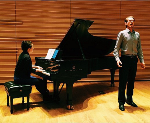 Geoff Hahn & Renate Rohlfing performing live at the Dimenna Center,