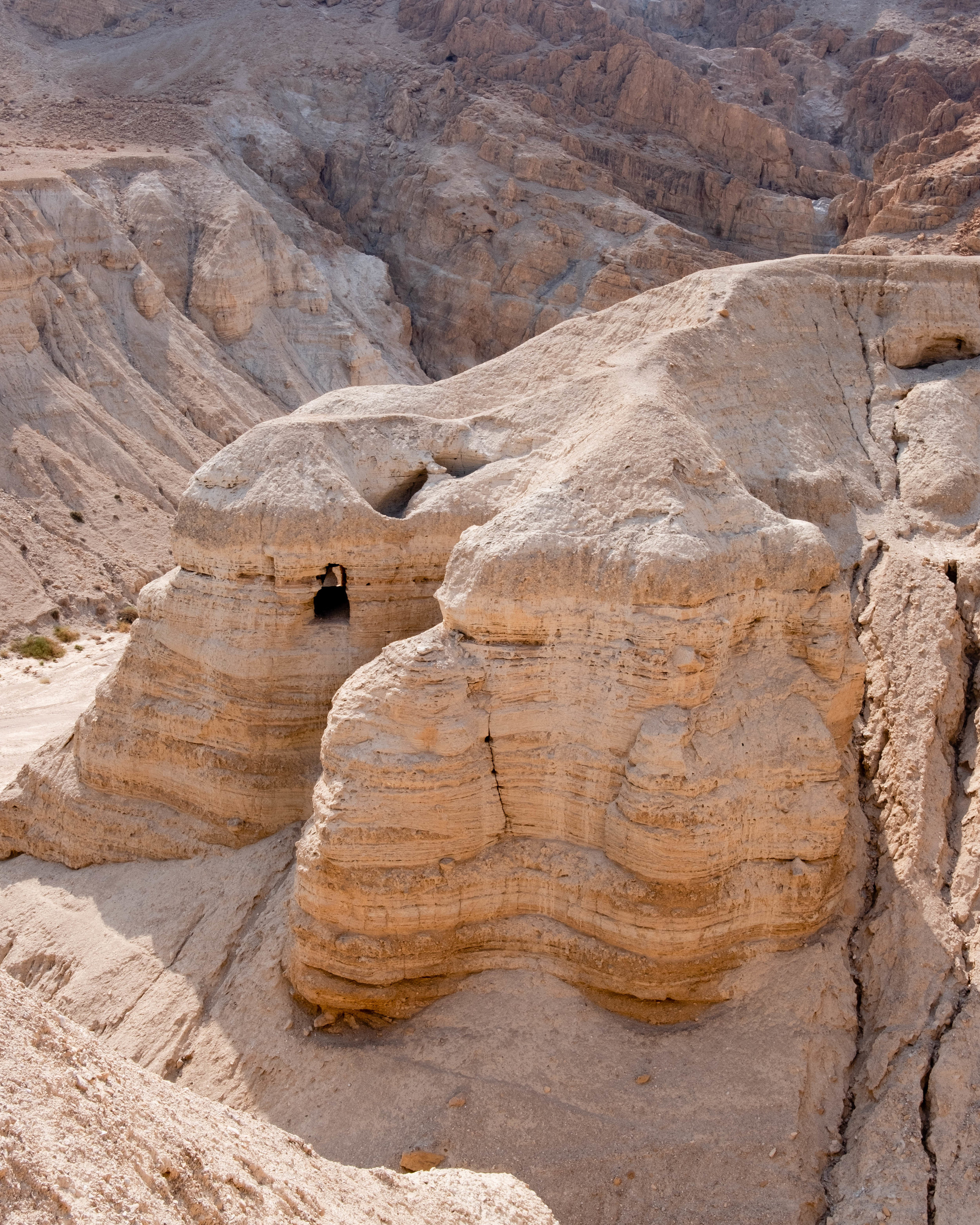 qumran national park, israel.