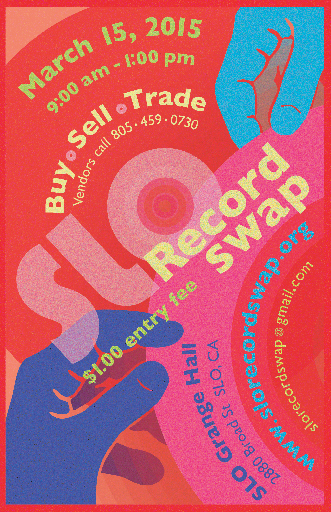 SLO Record Swap II...3/15/2015