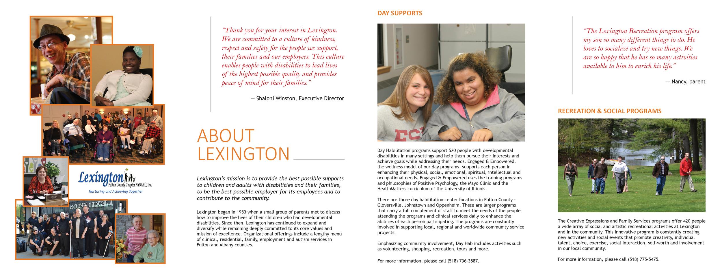 brochure excerpt