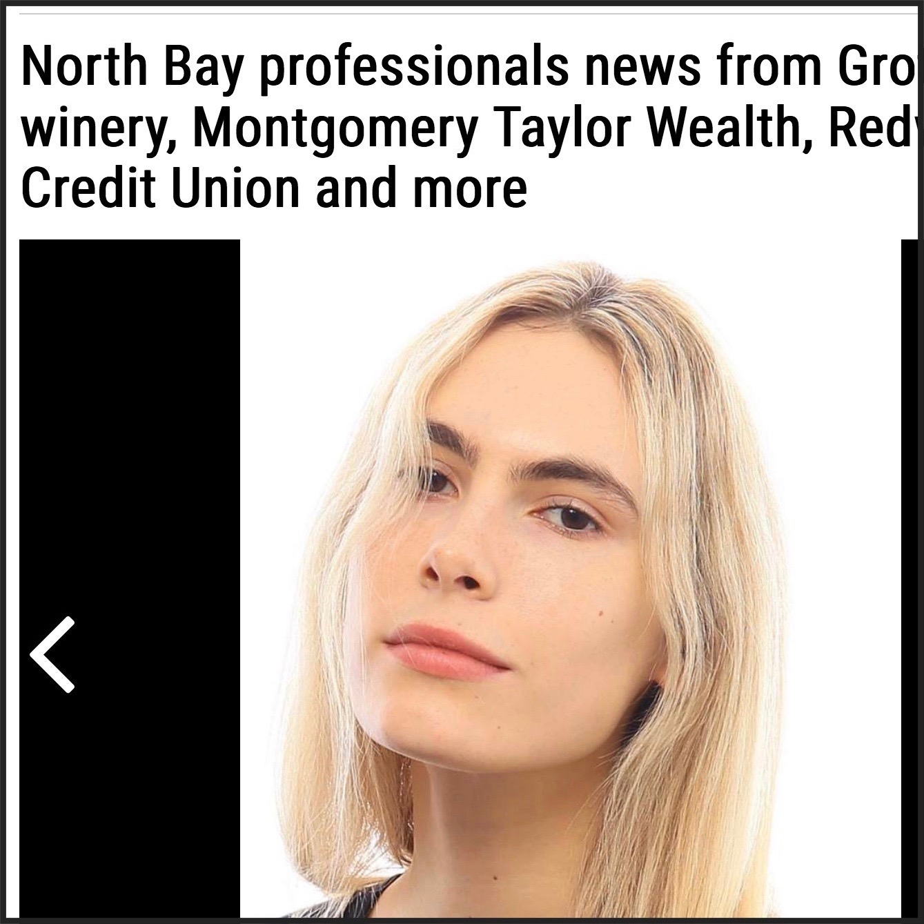 Logan in THE NORTH BAY BUSINESS JOURNAL