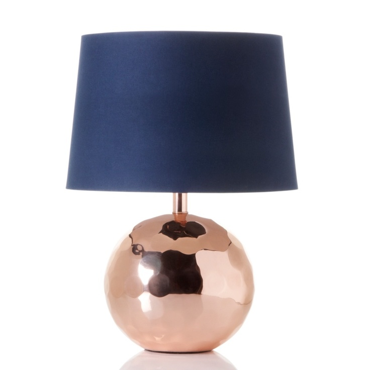 Nate Berkus Handcrafted Orbit Table Lamp, Rose  (no longer available)