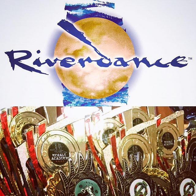 Super looking forward to our Class Feis this weekend with a special competition dedicated to the 25th Anniversary of @riverdance. Watch out Jean Butler (@jeanbutlerdance) and Michael Flatley (@michaelflatleyofficial) ☘️💃🏻☘️🕺🏻❤️🖤❤️🖤❤️