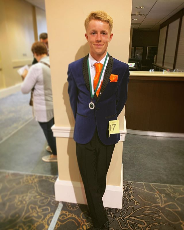 Congratulations Michael Deery, 7th place at the British Nationals! ☘️🕺🏻🇬🇧 #britishnationals #britishnationals2019 #mchaleacademy