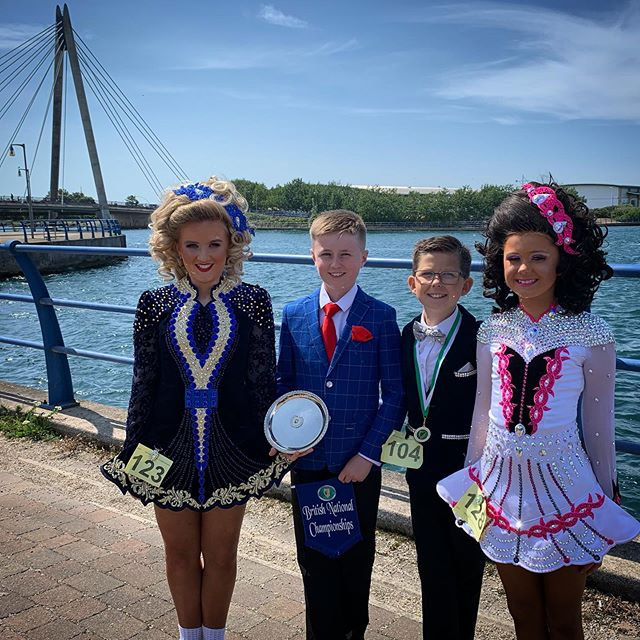 Well Done to our awesome foursome today at the British Nationals. Patrick Riley, Áine Riley, Amélie Taylor and Ambrose Deery great results and getting a podium finish!