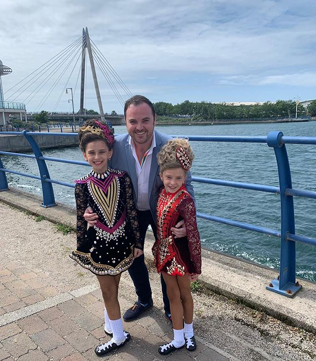 Super proud of our two U10's who put on a great show at the British Nationals. Brilliant dancing Eva Coen & Kacie Cole. Well Done! ☘️ #britishnationals #britishnationals2019 #mchaleacademy