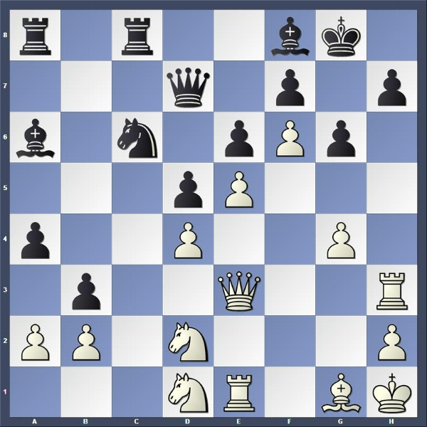 WFM Rachel Ulrich - FM Albert Chow    Clark Street Capital, Round 3    White to play