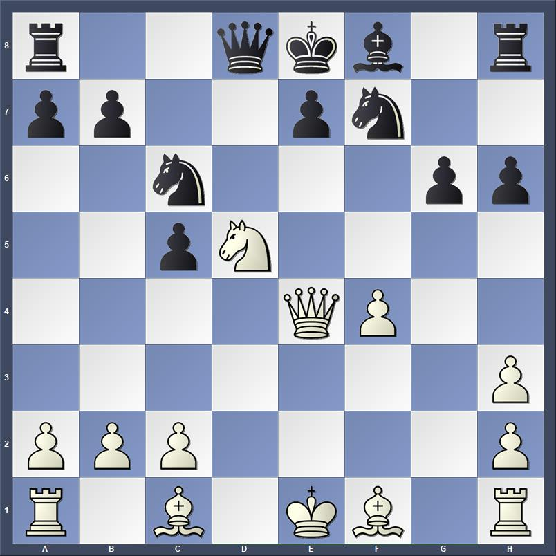 Genil - Meharenna, Chicago 2017    White to play and mate