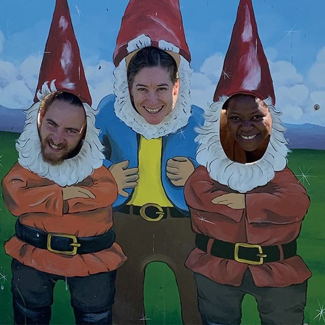 I'm going to miss my farm gnomies!! Thank you both for all your hard work, cheerful attitudes and superb ability to take a joke to its absurdist extreme. Love you guys @ashantiii23 @bruva_earth
