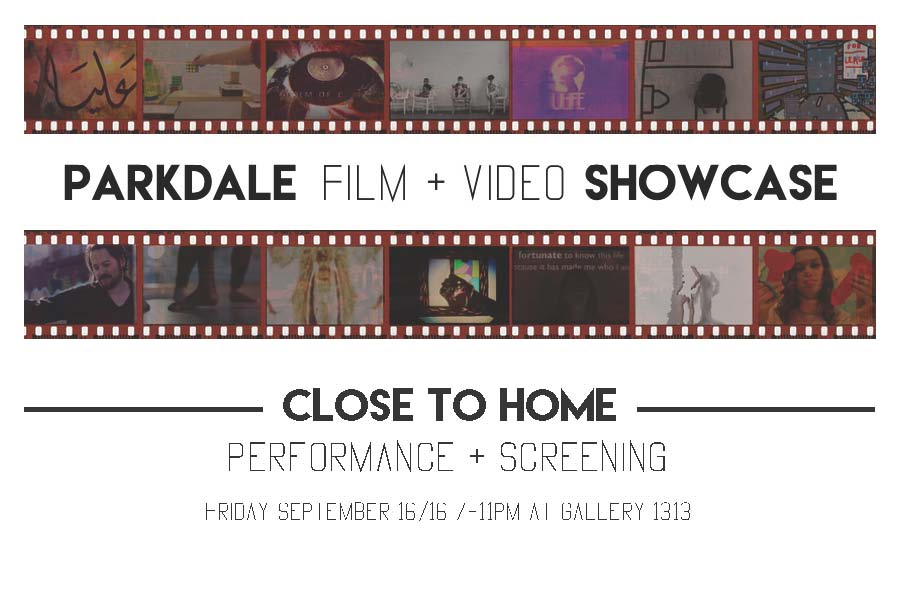 See photos from The Parkdale Film + Video Showcase  here .