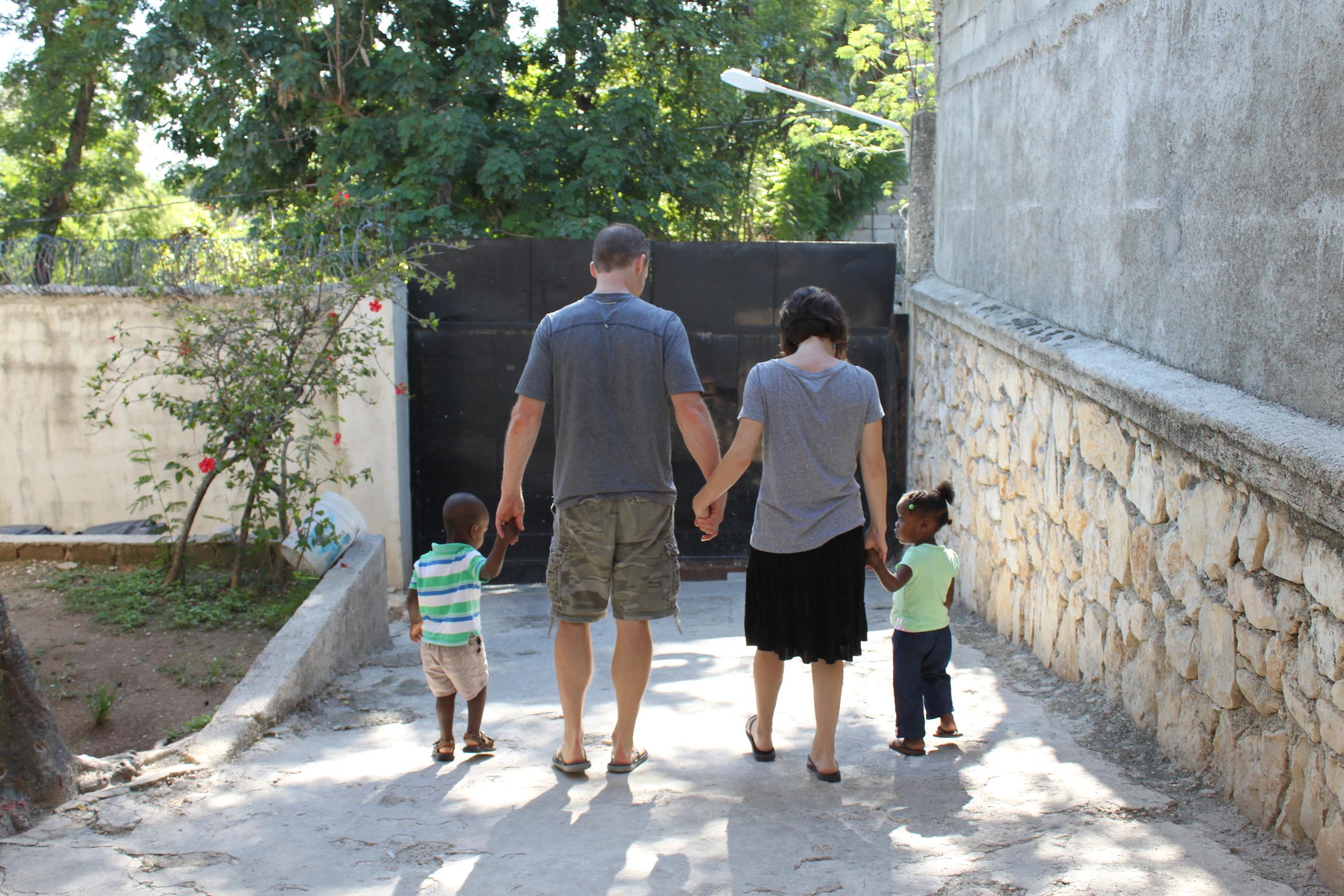 Leaving Angel House