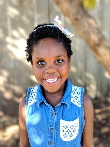 Angeline's beautiful brown eyes!