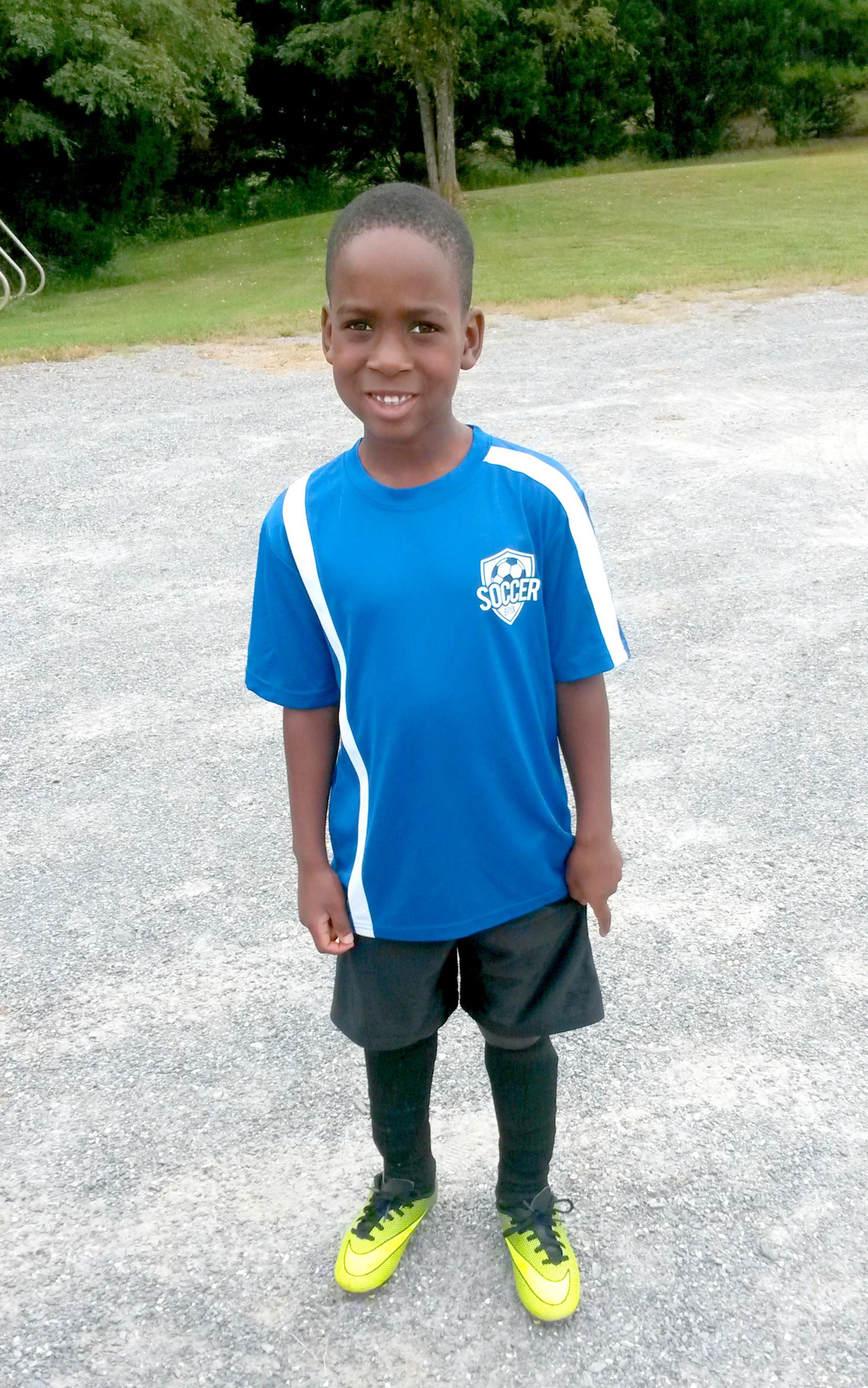 The soccer super star!