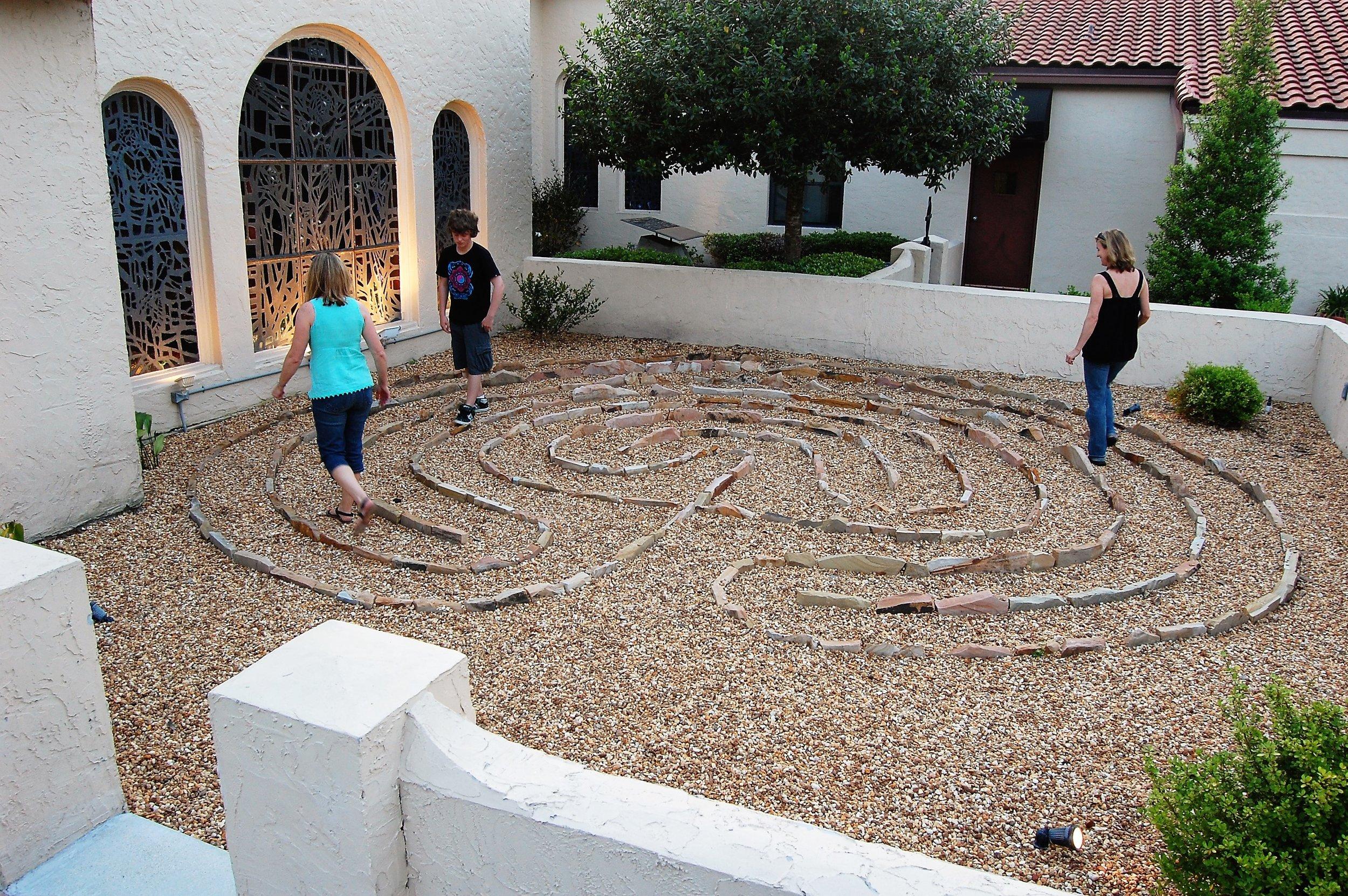 San Jose Episcopal Church Labyrinth