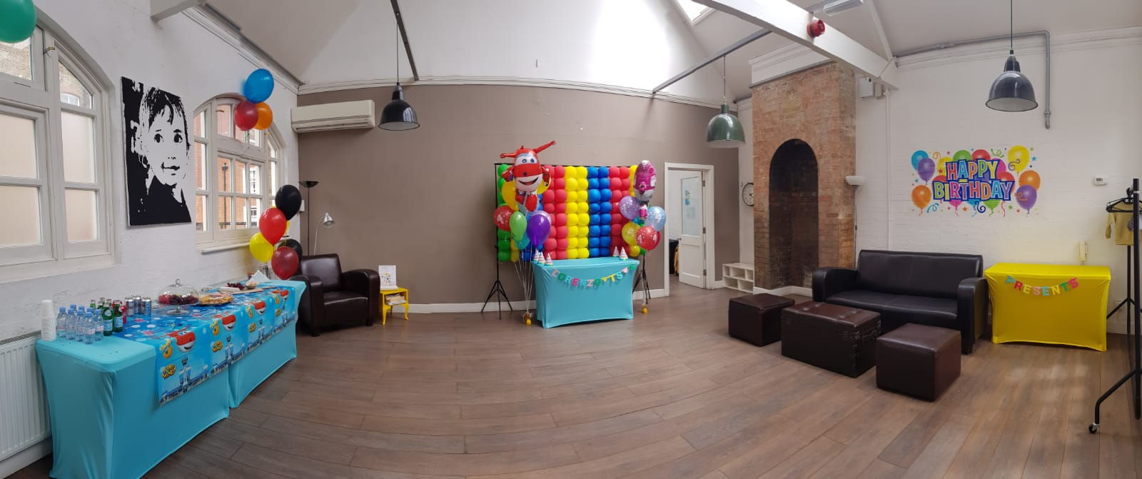 Upstairs decorated 1st room at 3 House Club _version2.JPG