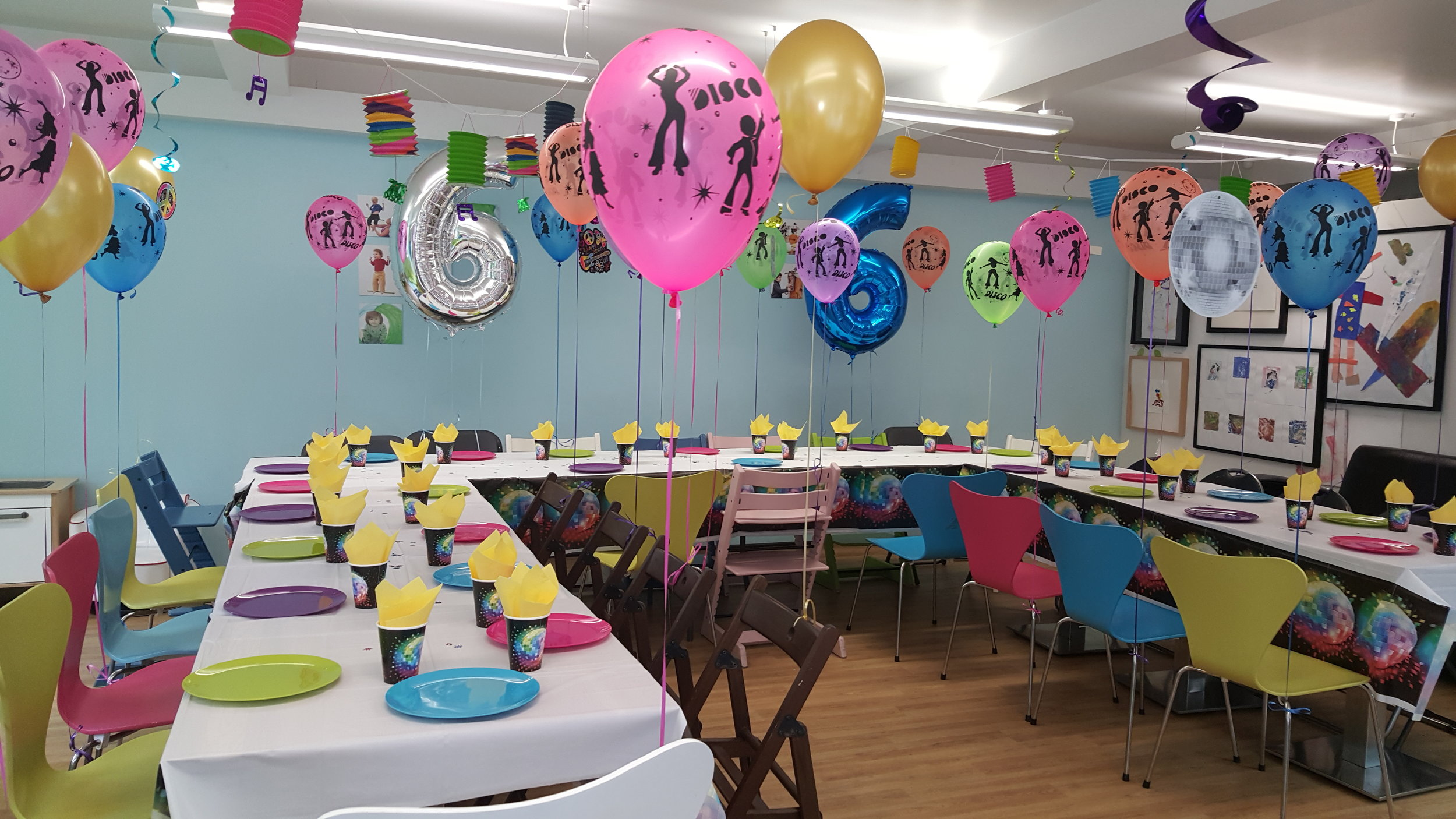 Disco party table for children NW8.jpg