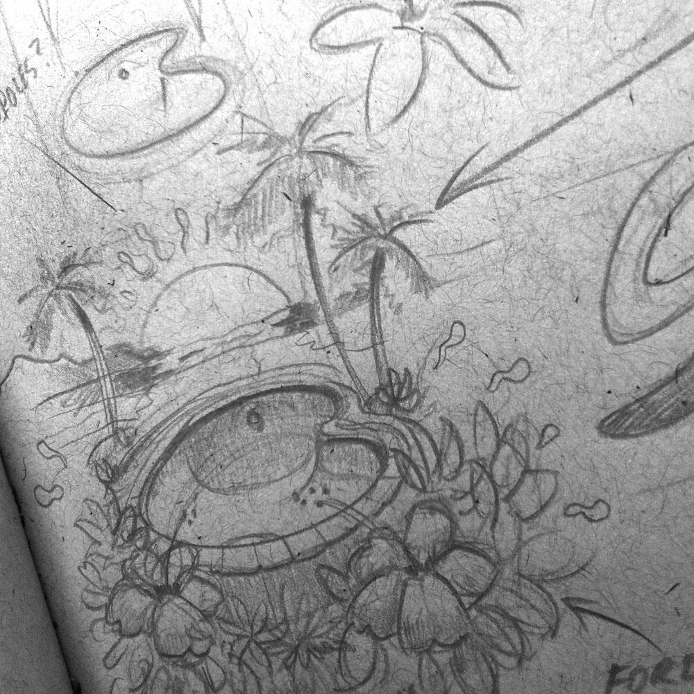 Chosen concept sketch