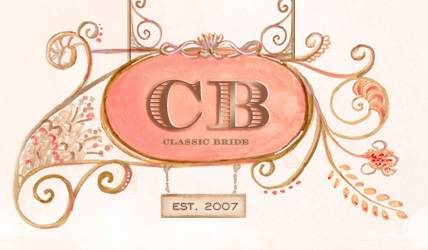 you can view the feature by clicking the Classic Bride logo above!