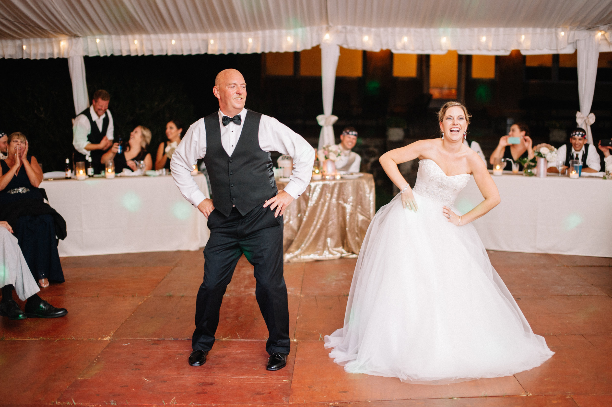 most epic Father-Daughter dance EVER!