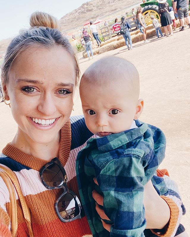 Obsessed with this little pumpkin! 🎃 #auntiekiki