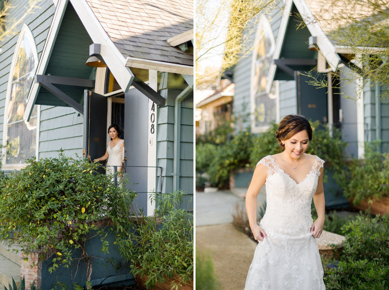 first look at the ruby street wedding venue los angeles