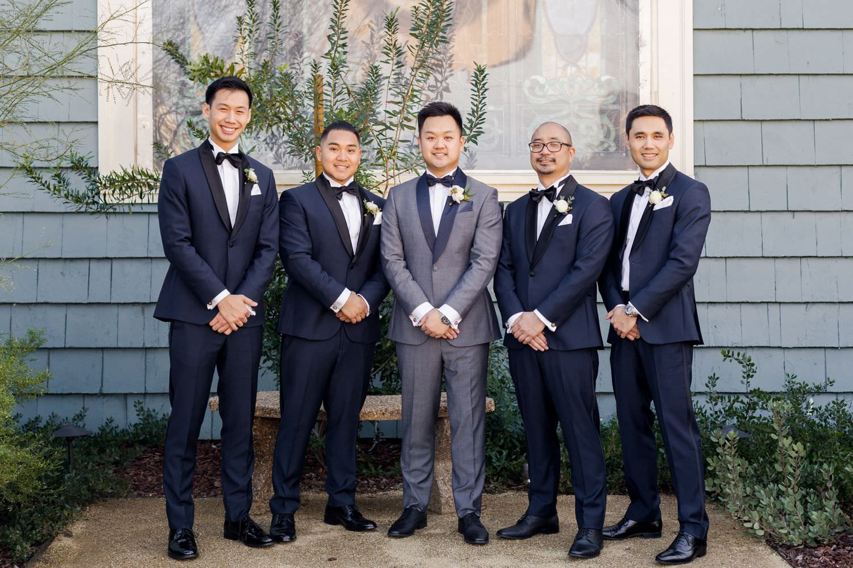 groomsmen wedding photos the ruby street los angeles