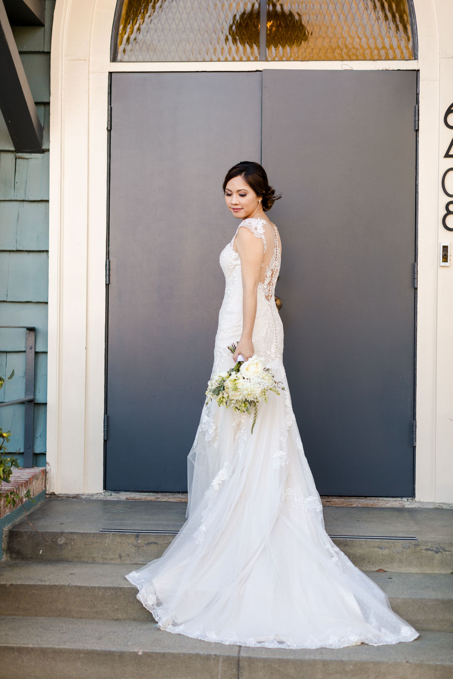 bhldn wedding gown los angles the ruby street