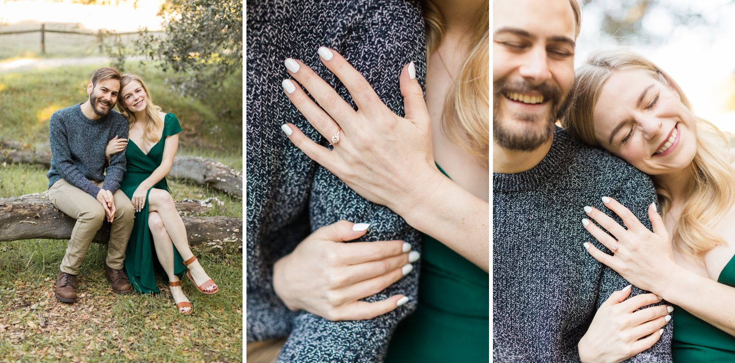 trippet ranch engagement photos