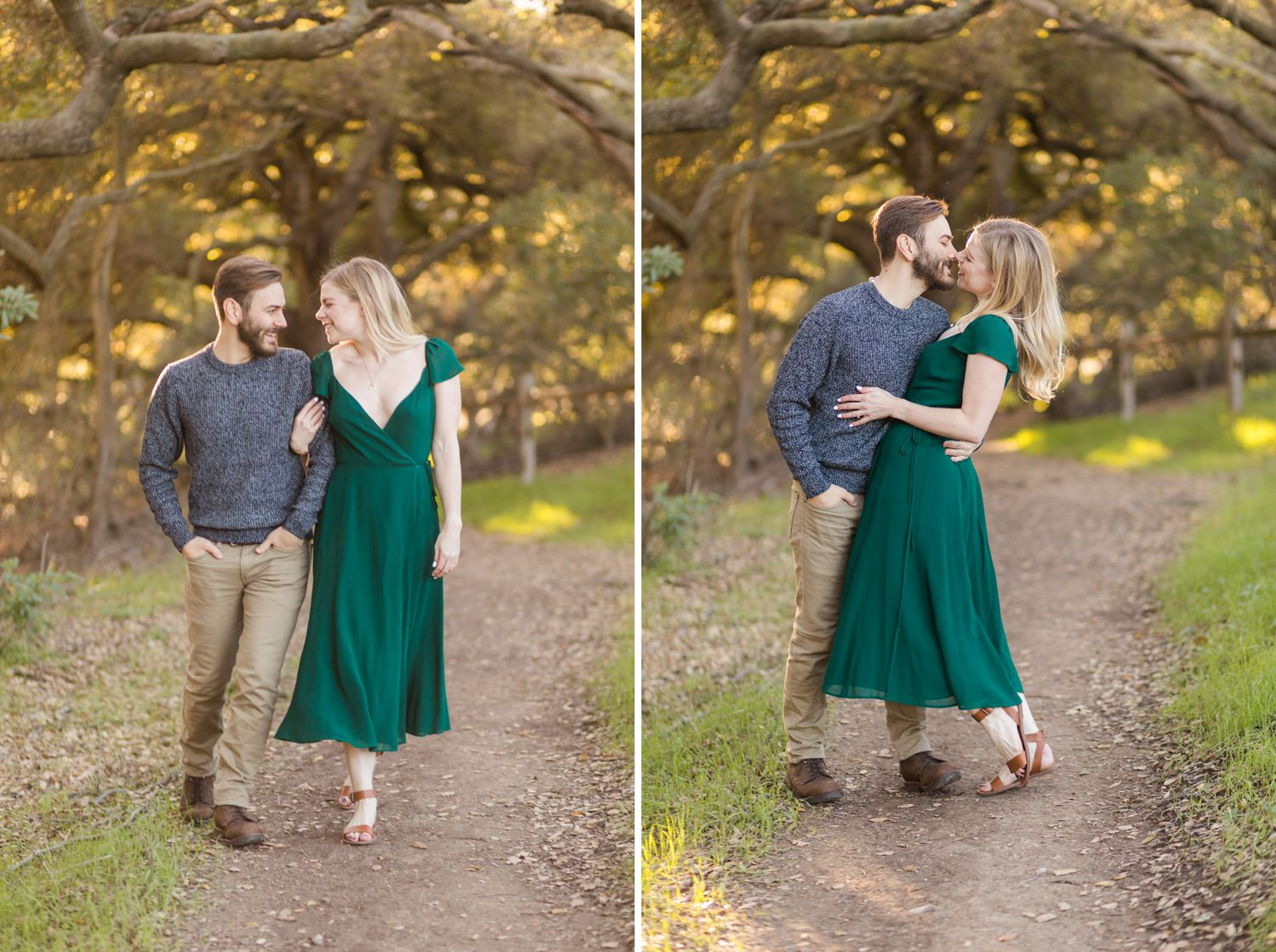 topanga canyon engagement photos