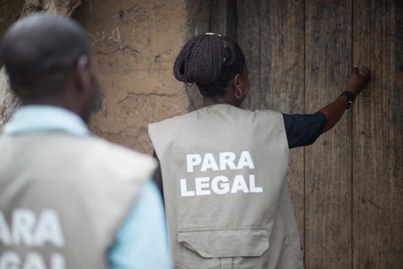 Paralegals in Enugu State, Nigeria - one of many jurisdictions in which the PASI model has been adopted. Photo: Justice For All Programme,  Nigeria (http://www.j4a-nigeria.org)