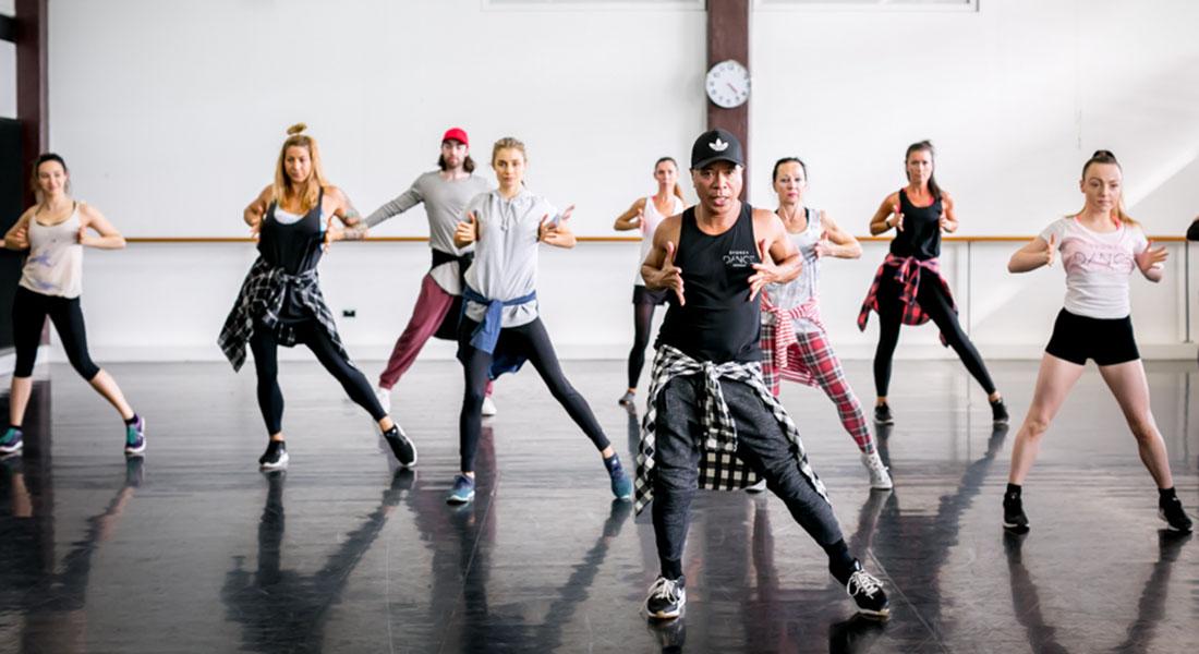 class with ramon @ sydney dance company studios