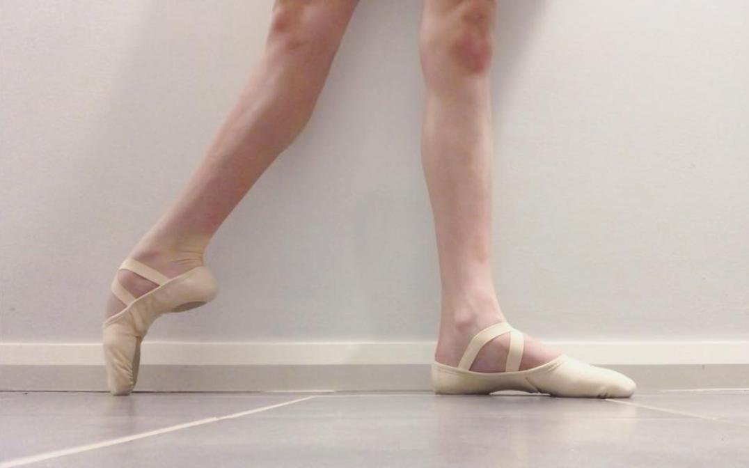 tashi wearing her intrinsic reflex ballet shoes