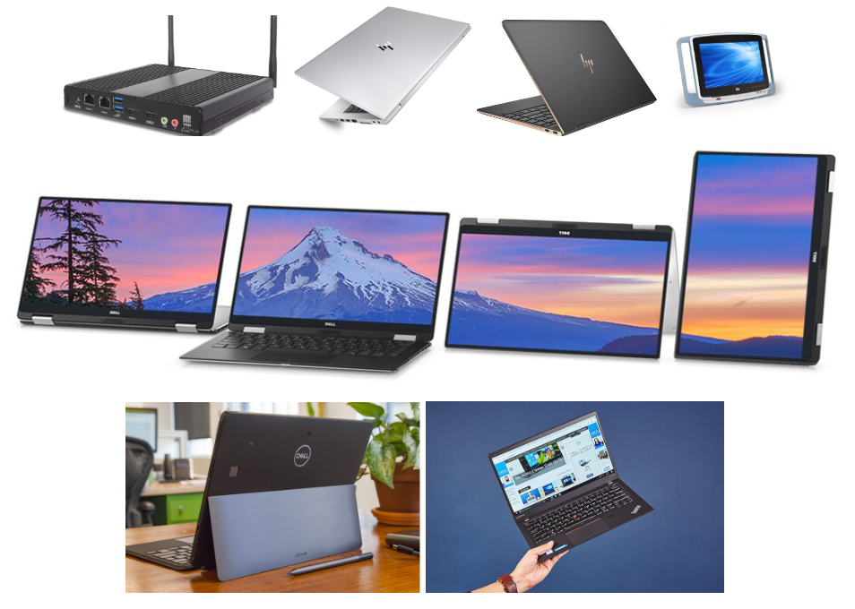 Newer computers that have been converted to Chromebooks using CloudReady