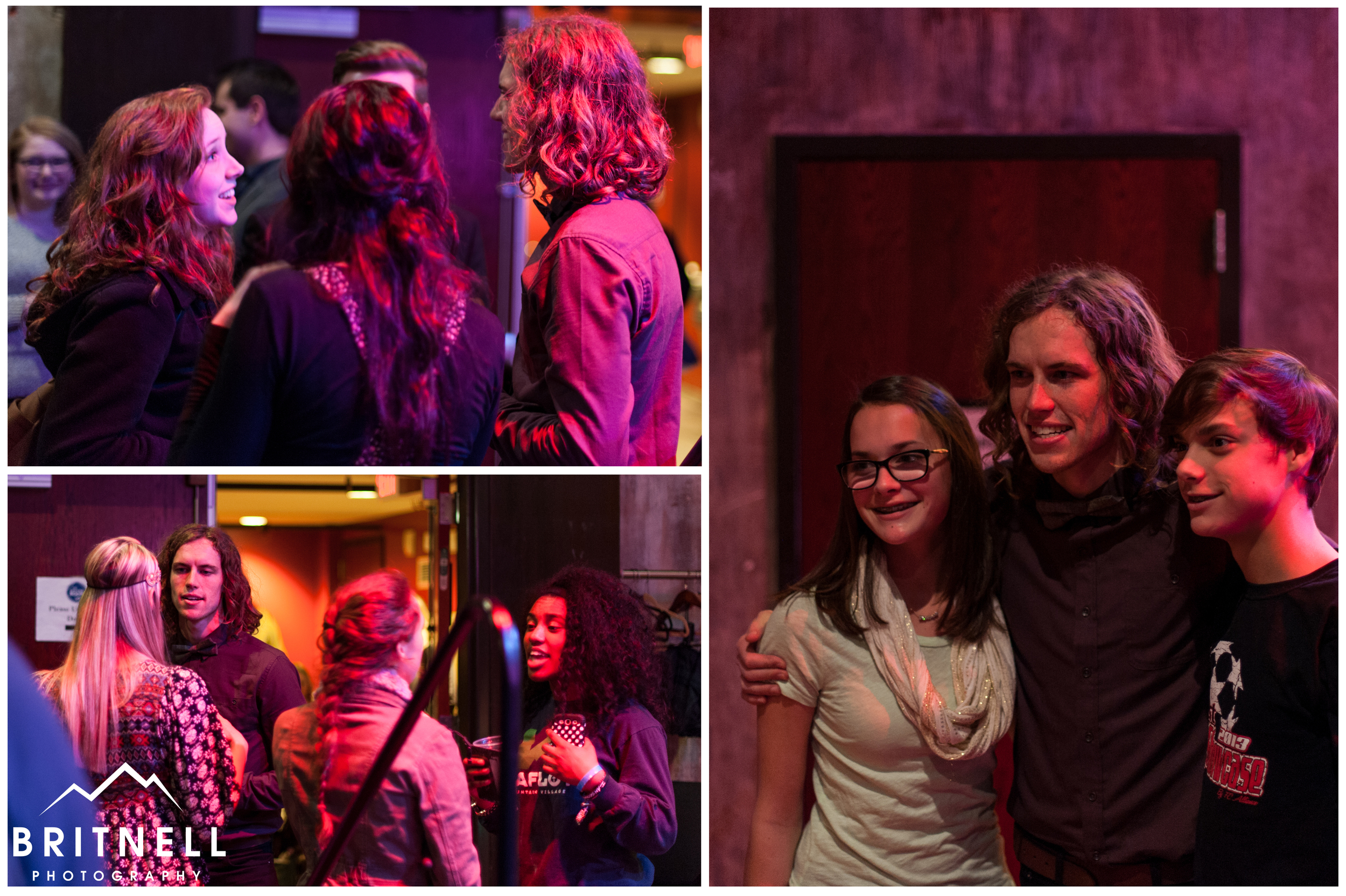 David had a great time greeting and taking pictures with fans after the show.