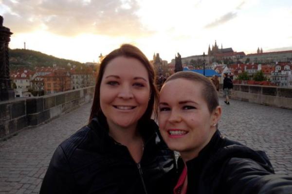 Jess in Prague, April 2014