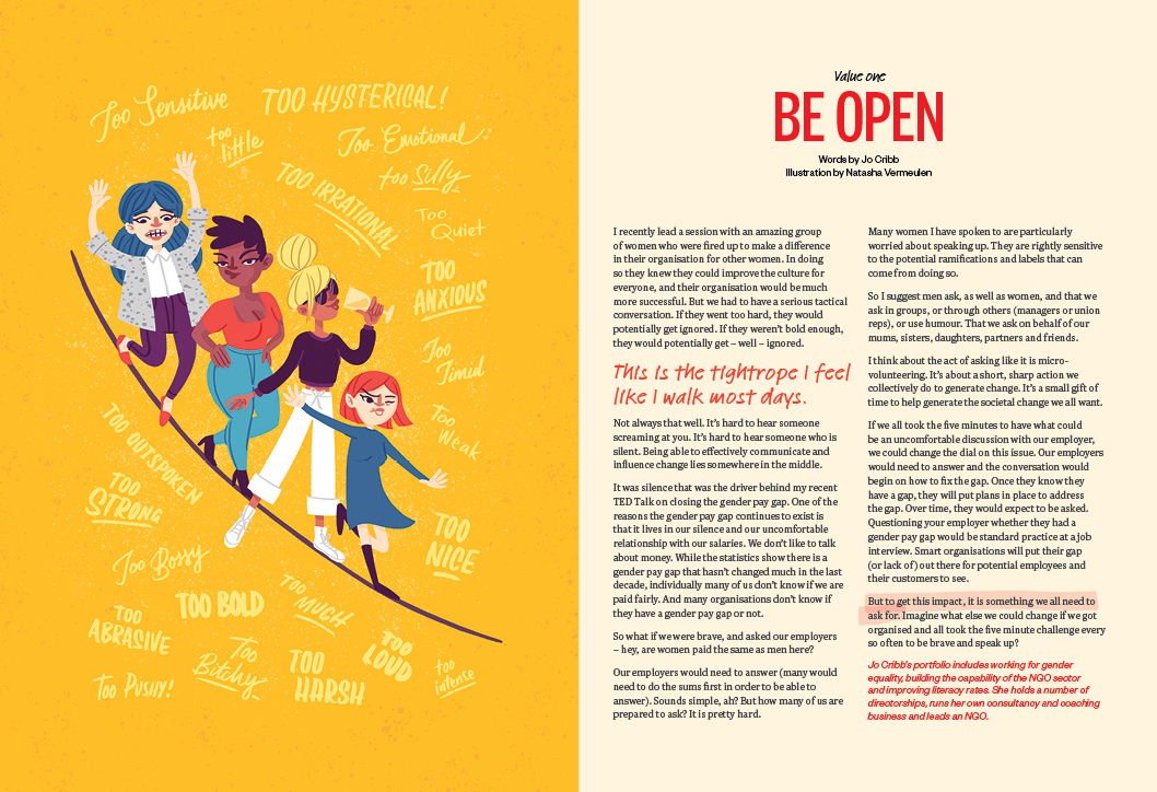 Be Open - Jo Cribb