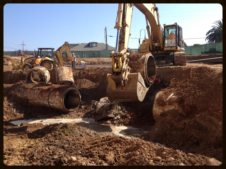 Storm drain removal at Comm22 senior.JPG