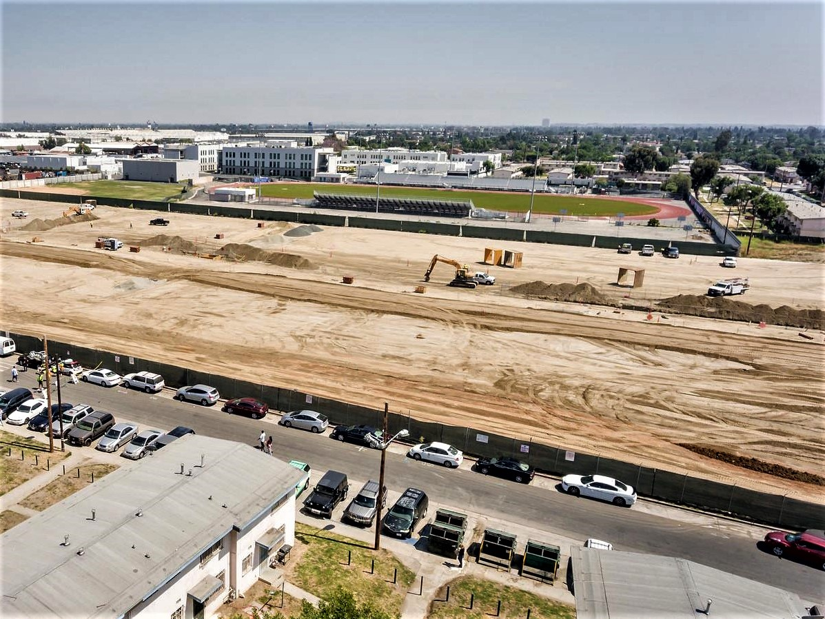 Aerial Post Remediation Century Blvd Construction Crop.jpg