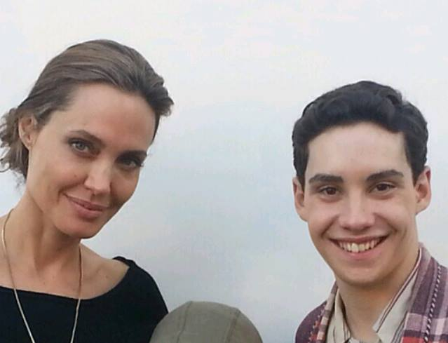 Angelina Jolie and John D'Leo