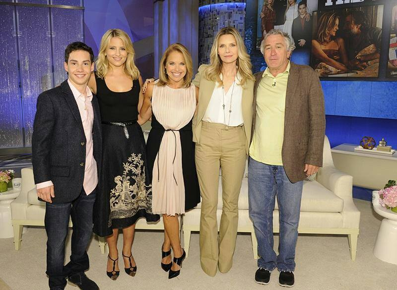 The Cast of 'The Family' with Katie Couric