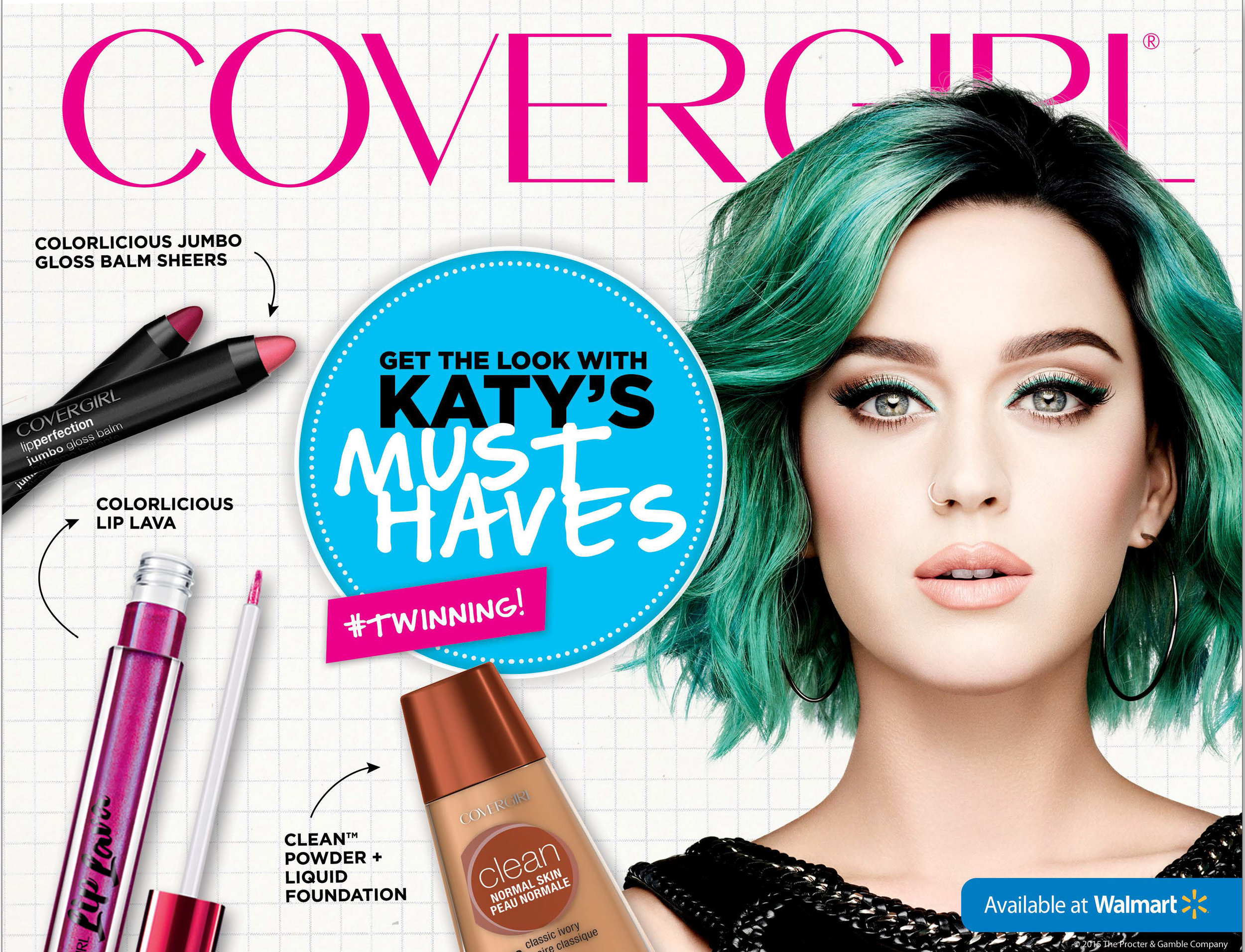 Concept for Walmart Beauty with Katy Perry.