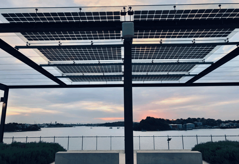 Solar installed by Smart Commercial Solar at The Coal Loader — A Centre for Sustainability for North Sydney Council.