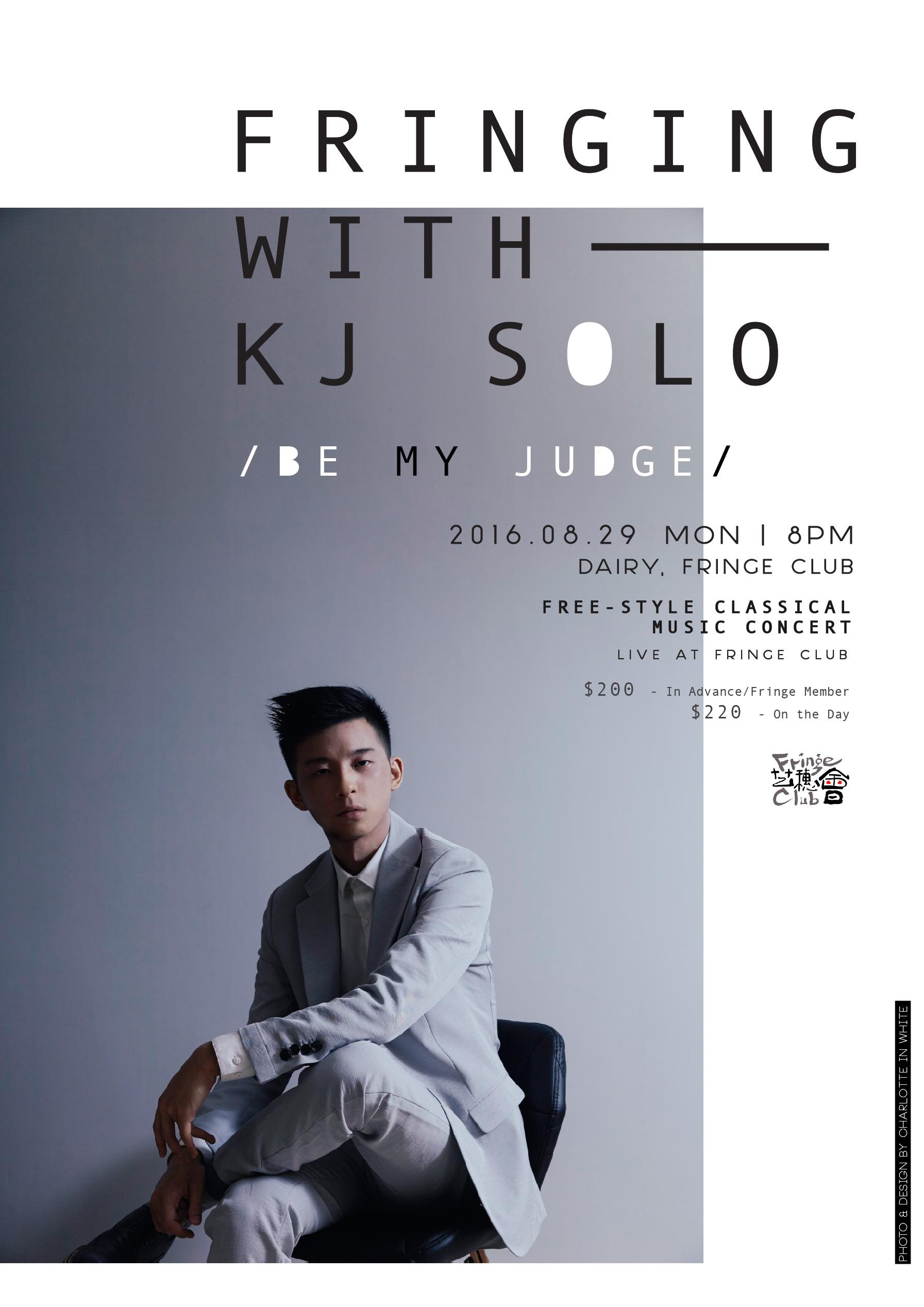 kj's concert series - Creative Direction . Photography . Graphic Design