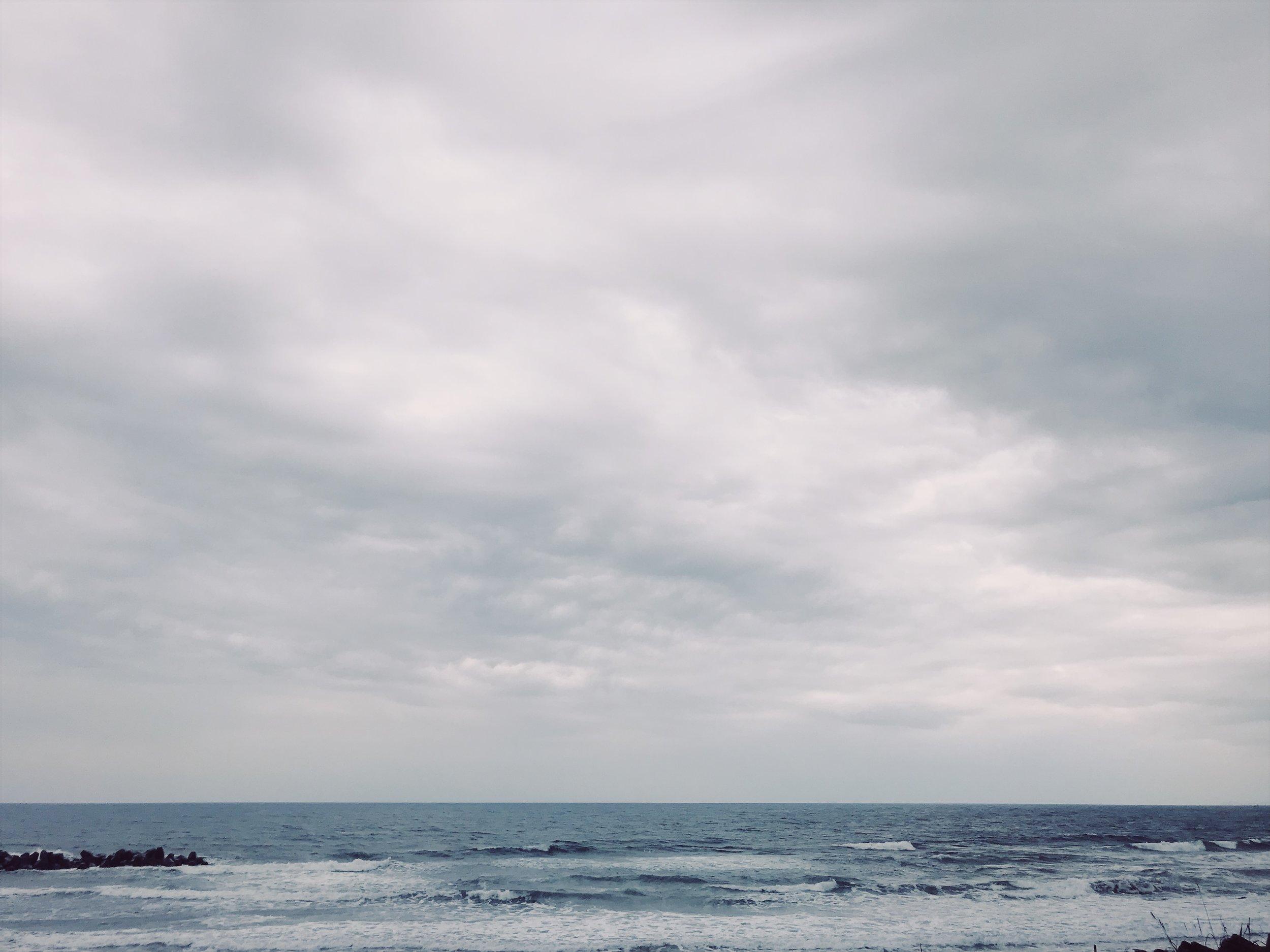 Pacific ocean in  Tou-cheng , Yi Lan,Taiwan.