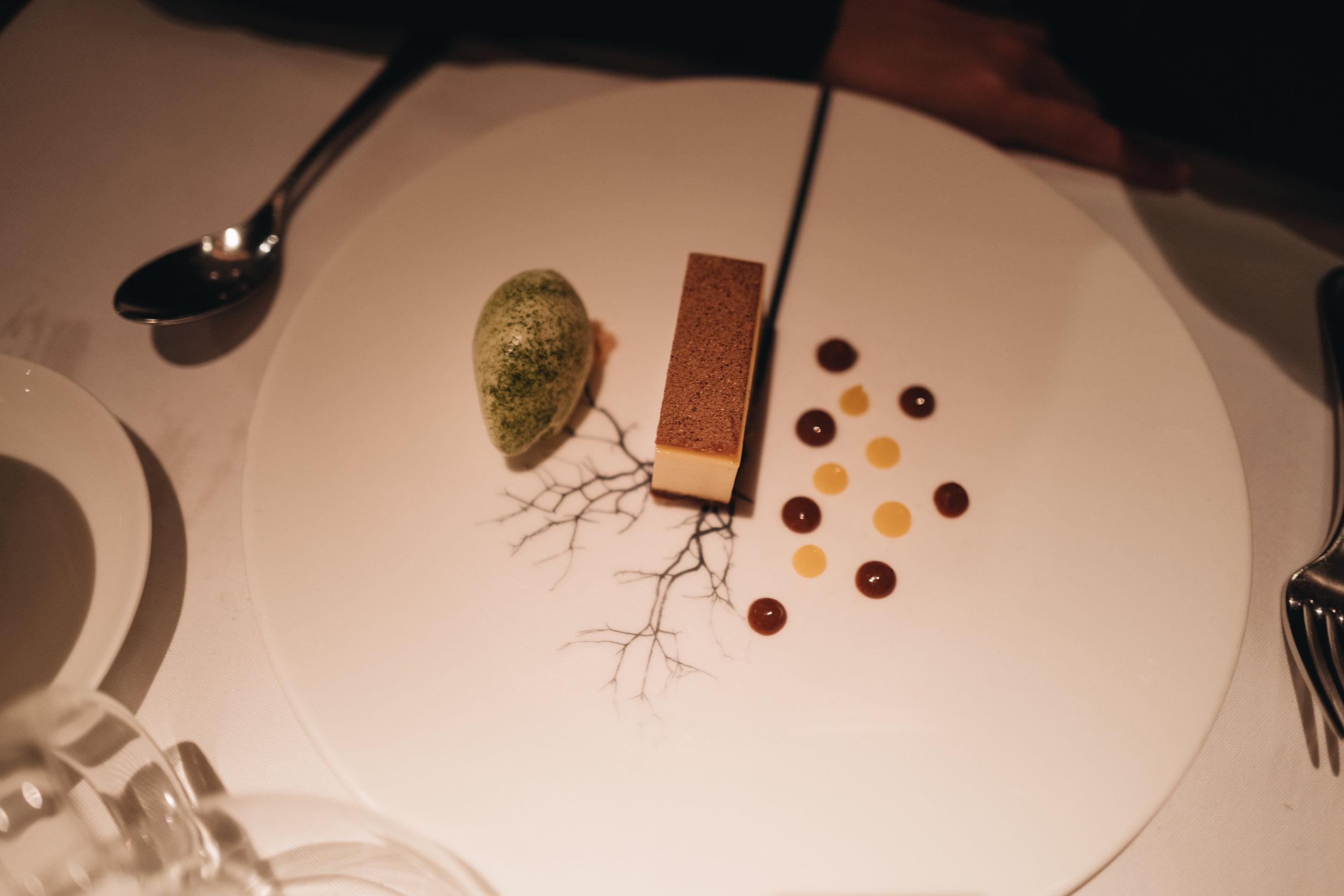 Vegetarian Dessert, ice cream & cheesecake. (蛋奶素)雪糕配芝士蛋糕