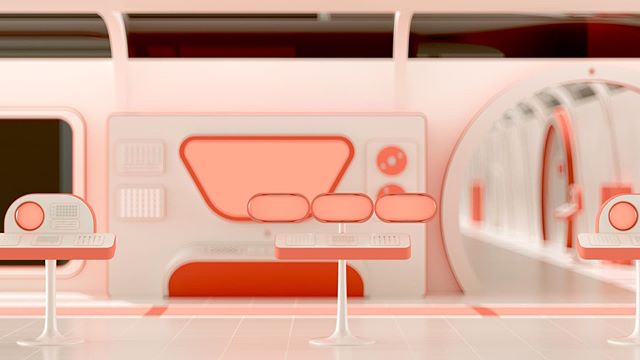 Dreaming of living in a 70s ikea space station designed by Dieter Rams. * * * * * #scifi #dieterrams #c4d #cinema4d #3d #3dfordesigners #motiongraphics_collective #itsnicethat #mdcommunity #mograph #design #motiondesign #render #motiongraphics #xuxoe #artistsoninstagram #redshift