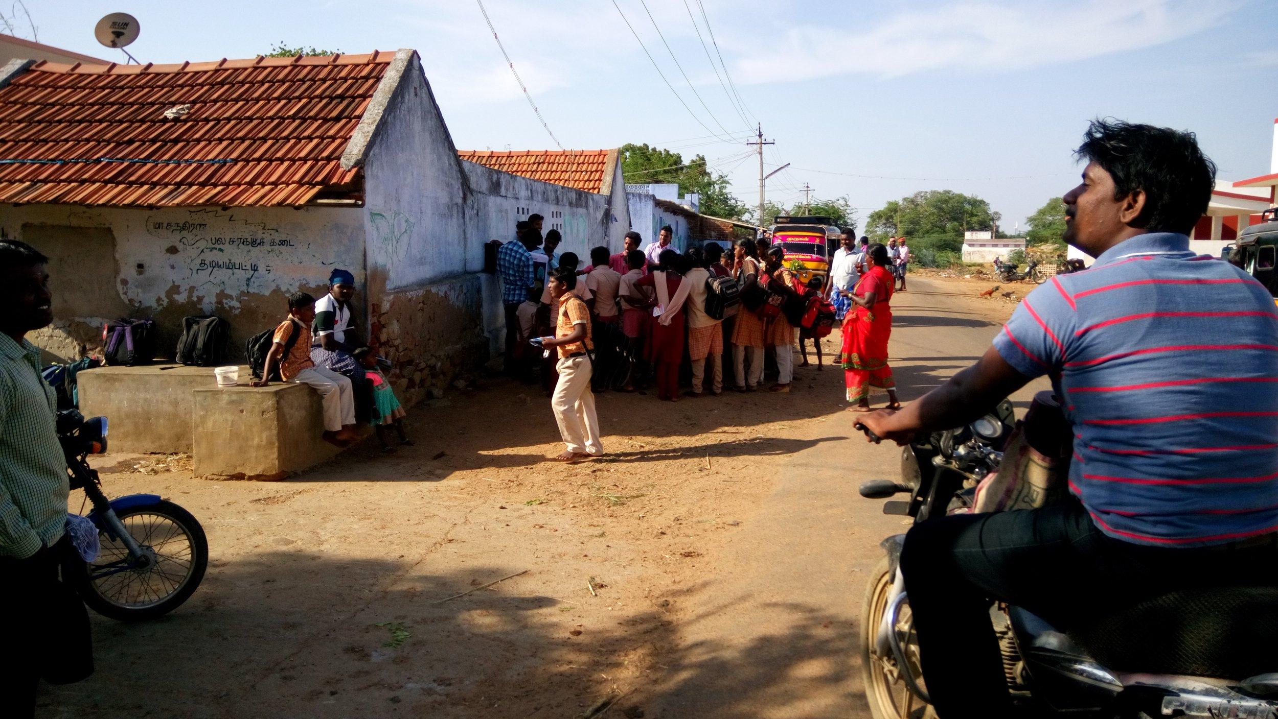 Gospel with School Students.JPG